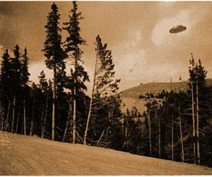 UFO Photo by Volunteer Fireman - Cave Junction, Oregon